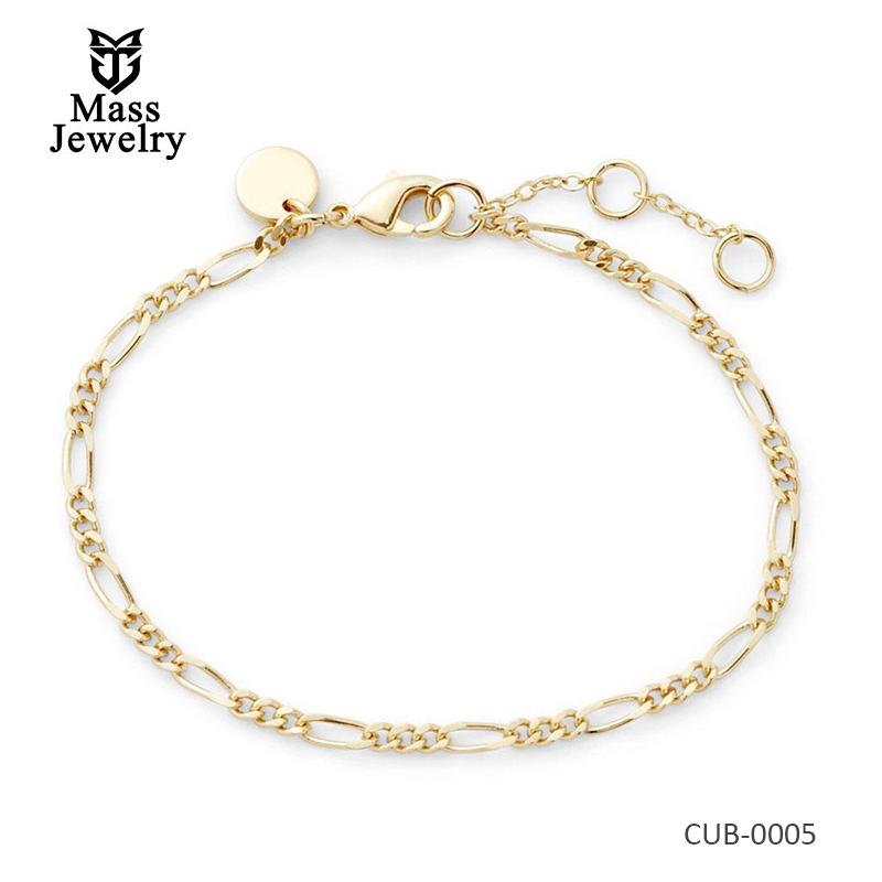 Women Expandable brass bracelet