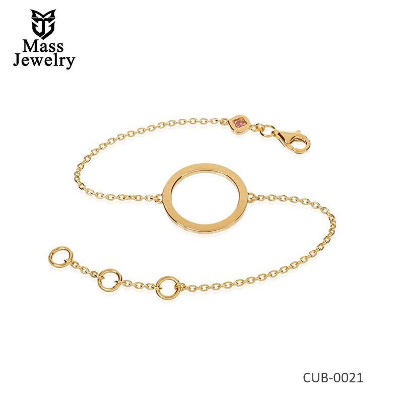 18K Gold Plate Bracelet
