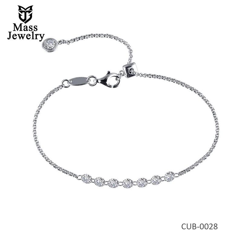 Symbols Of Joy Brass Plated Lassire Simulated Bracelet