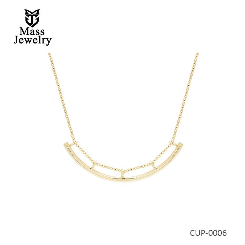 Fashion Long Bar Necklace