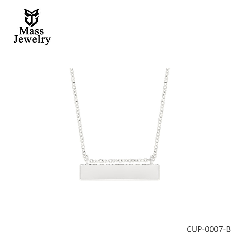 Long Chloe Name Bar Necklace