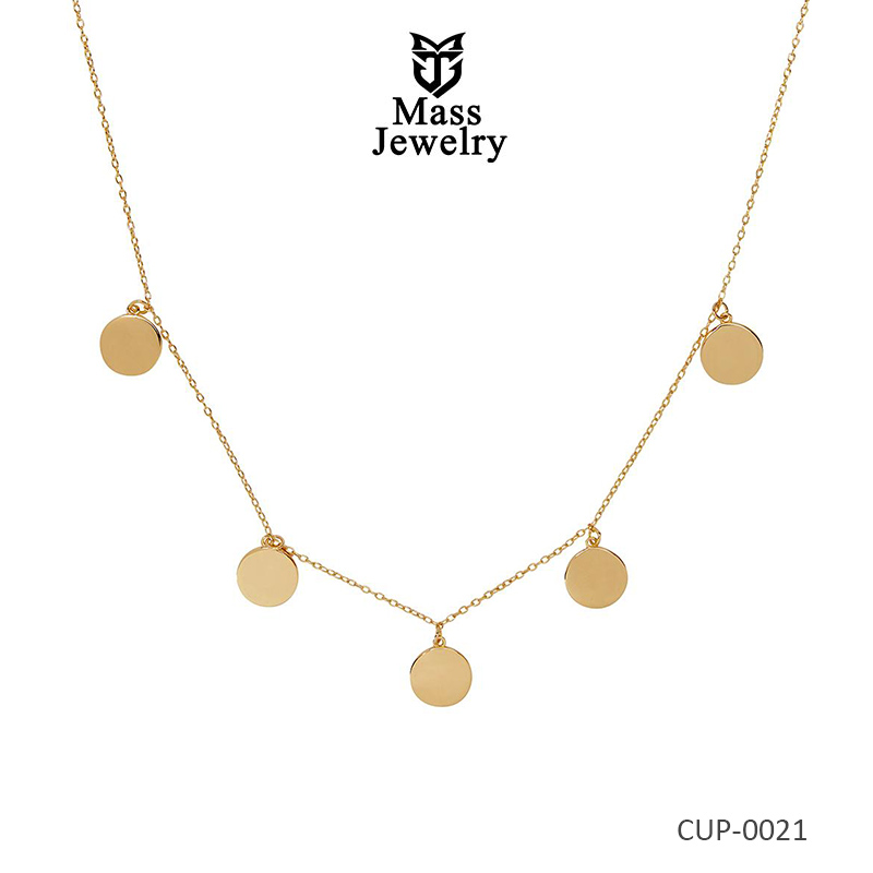 Simple Brass Jewelry Necklace