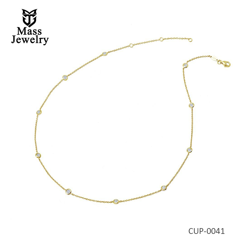 Timeless Classics Gold Plated Brass Necklace