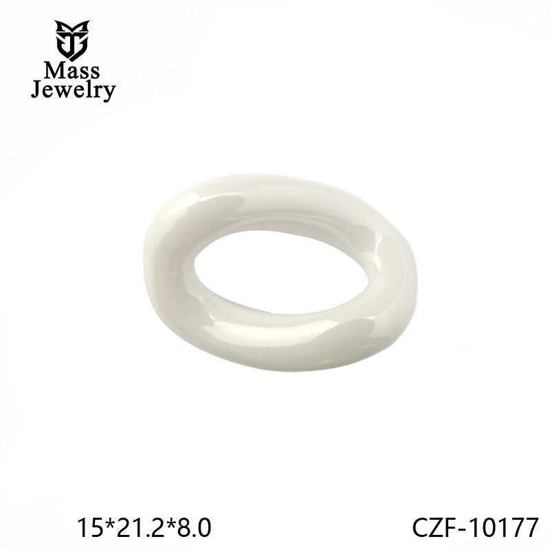 Pure Ceramic Fitting Semi Ceramic Jewelry