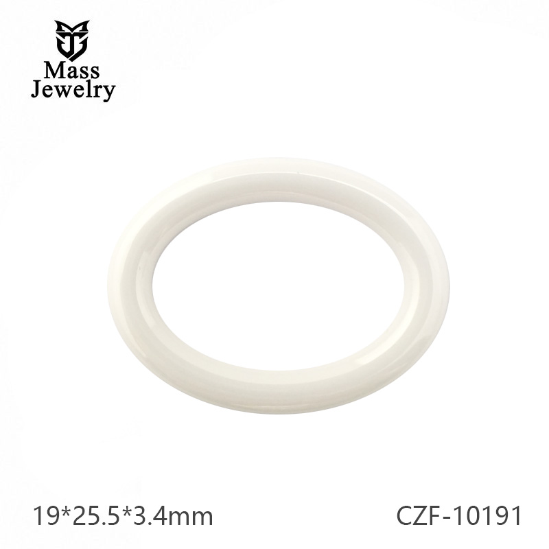 Pure Ceramic Accessories  Manufacturer Semi Ceramic Jewelry Diamond Cutting Ceramic Accessories