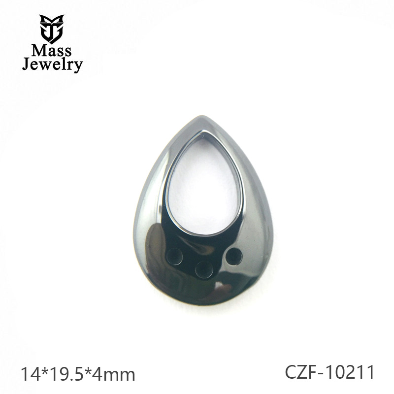 Pure Ceramic Component Semi Ceramic Jewelry