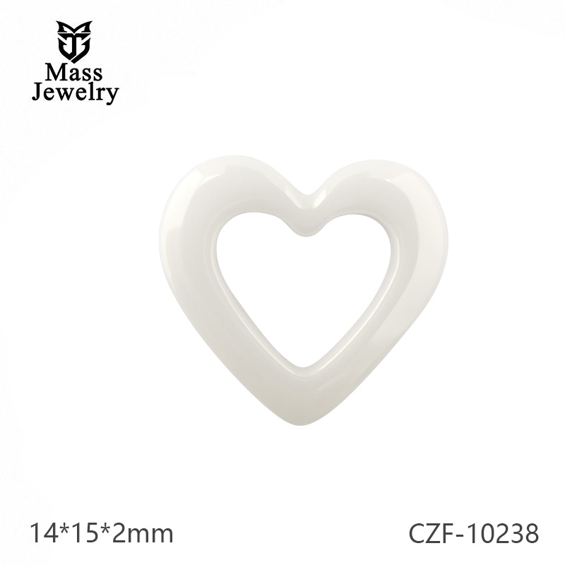 Pure Ceramic Elements Semi Ceramic Heart Jewelry Plant