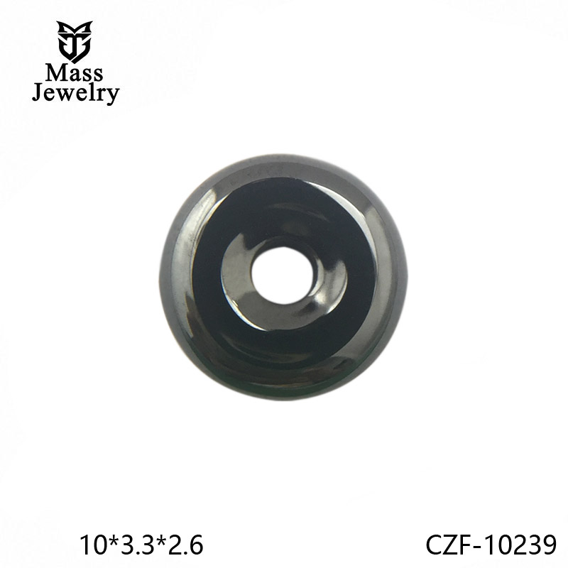 Pure Ceramic Component Factory Semi Ceramic Jewelry In China