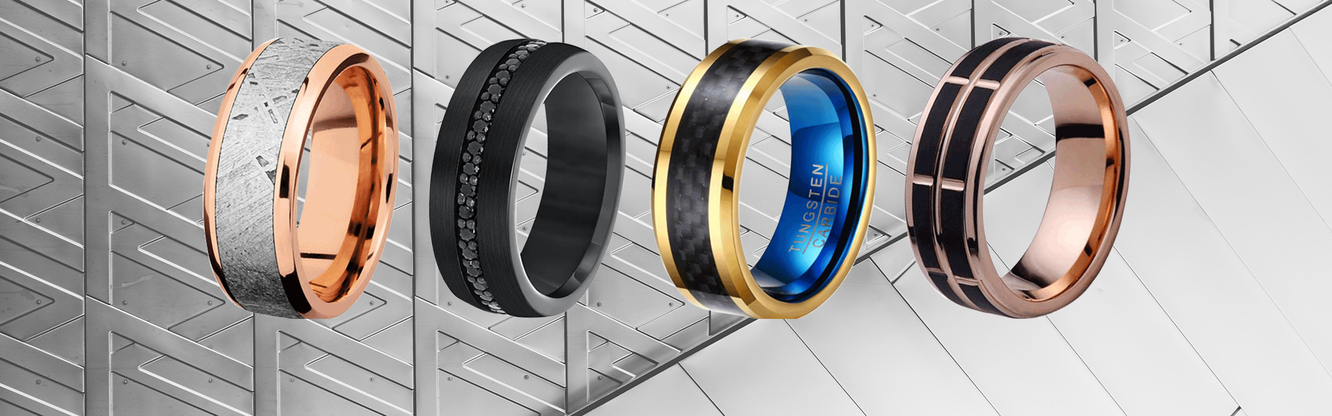 China Tungsten Rings Manufacturers-Mass Jewelry