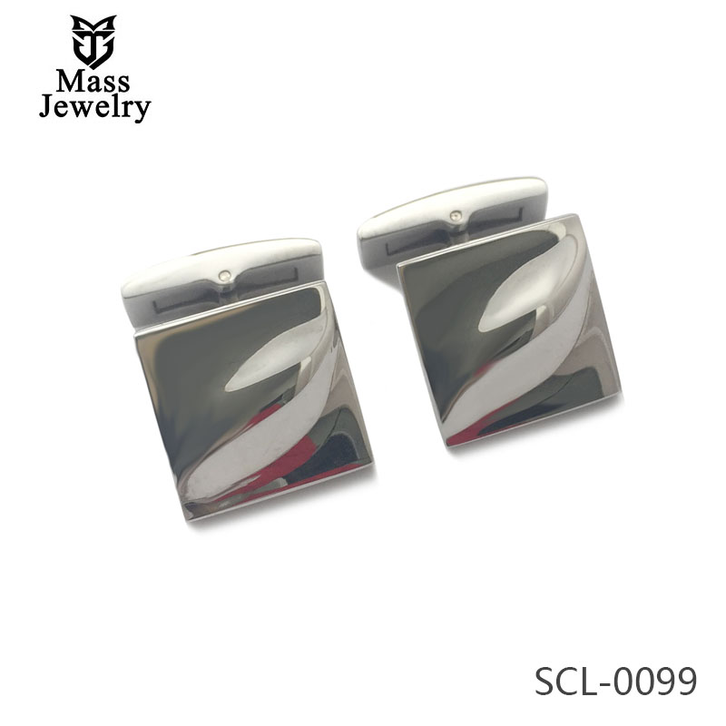 Simple Design Exquisite Stainless Steel Cufflinks