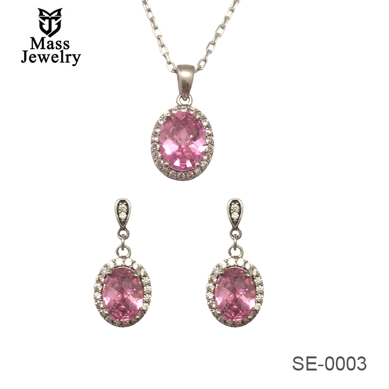 Hot Sale 925 Sterling Silver Sets For Christmas Gift