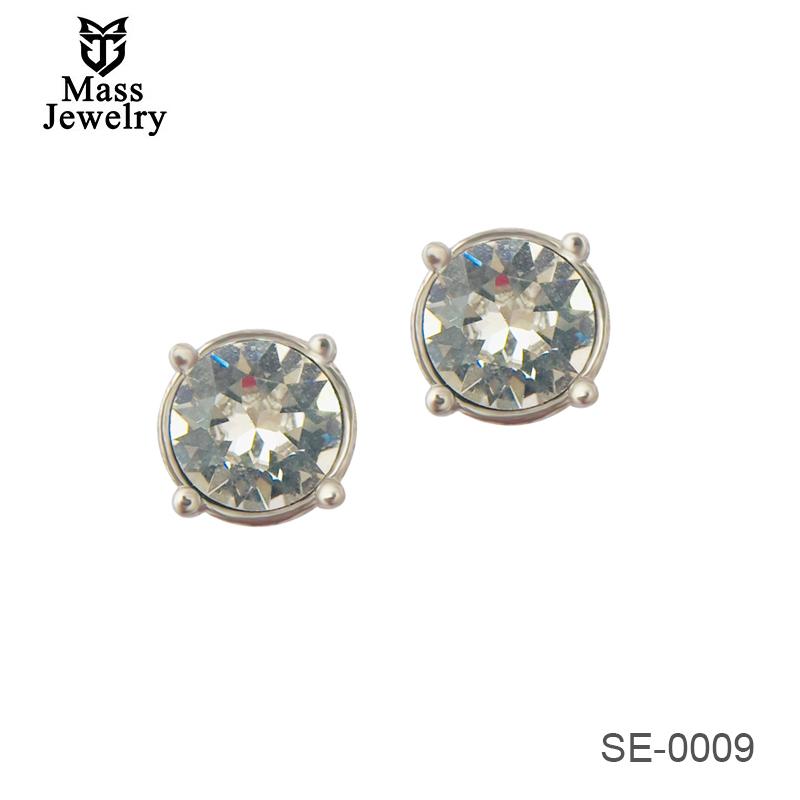 925 Sterling Silver Earring With AAA Zircon Stud Earring