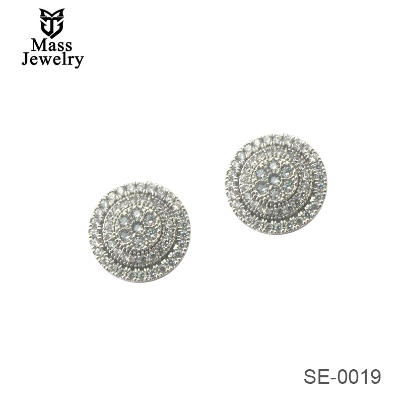 Wholesale Customizable Women Fashion Jewelry 925 Sterling Silver Earring