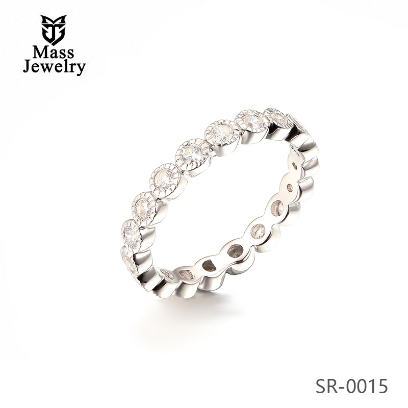 Wholesale Custom Fashion 925 Sterling Silver Charm Finger Ring