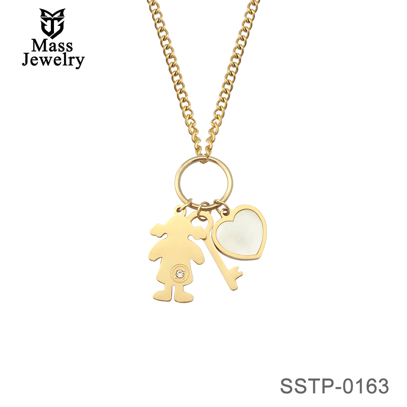 Stainless Steel Pendant Suitable For Birthday Gifts For Cute Girls