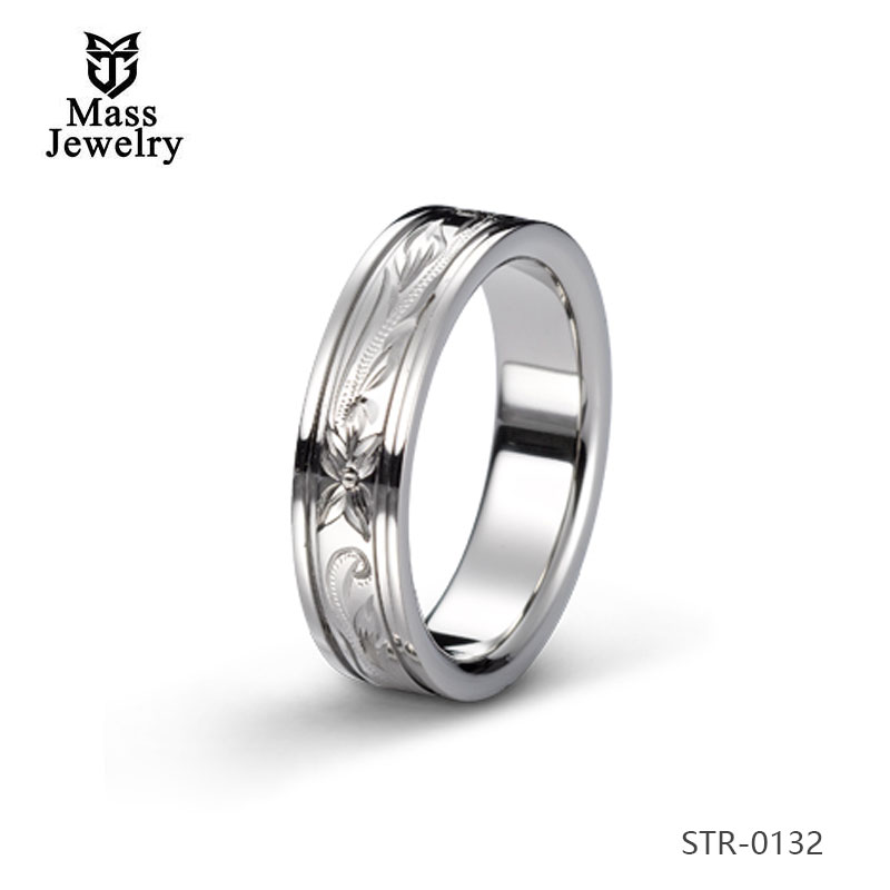 Women Man Latest Engagement Simple Neutral Stainless Steel Ring+Jewelry Men'S Ring