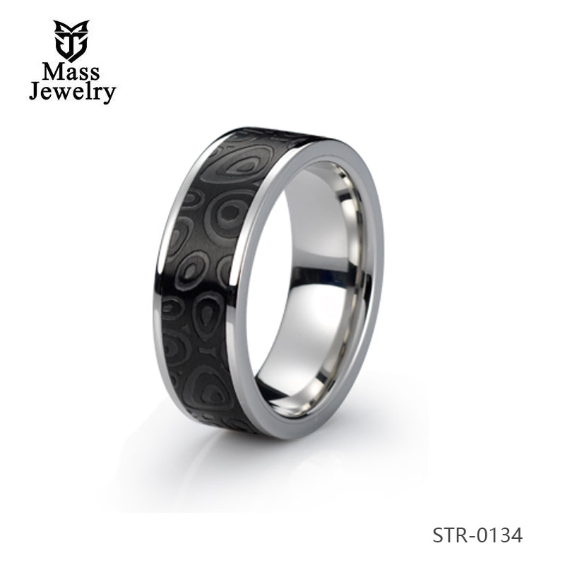 Canada Wholesale Jewelry Man'S Stainless Steel Wedding Rings