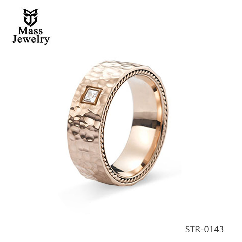 Wholesale Stainless Steel Titanium Ring Couple Ring Jewelry