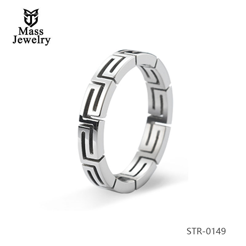 Wedding Cuff Love Wedding Ring Stainless Steel Jewelry