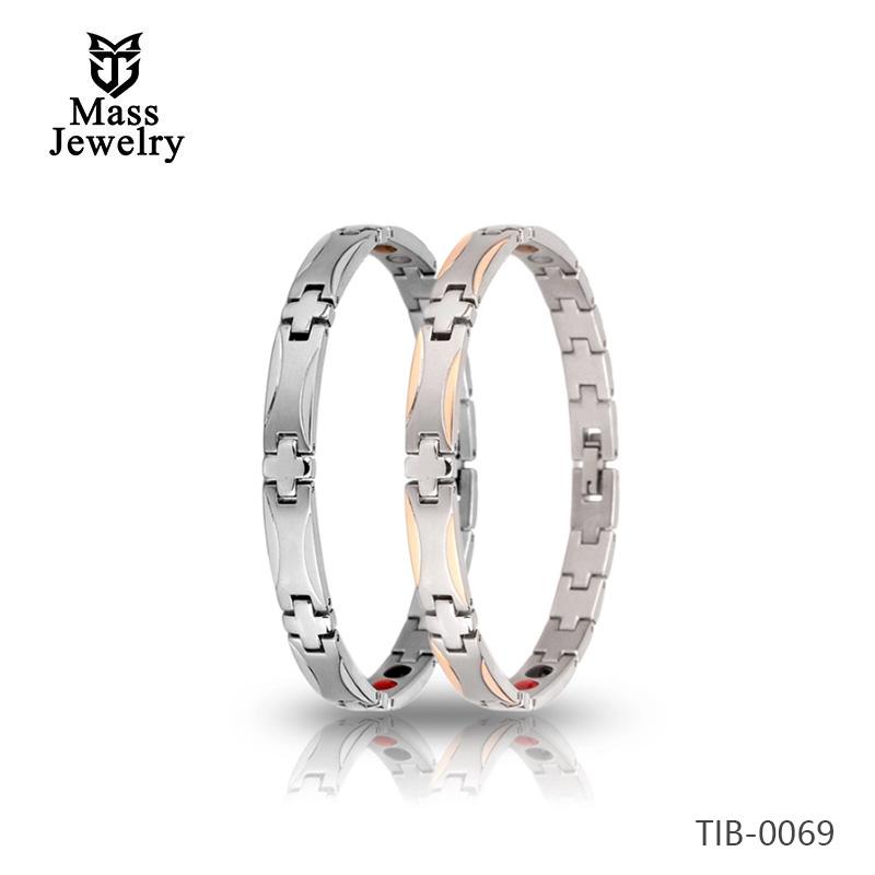 4 in 1 far infrare energy health titanium bracelets for men