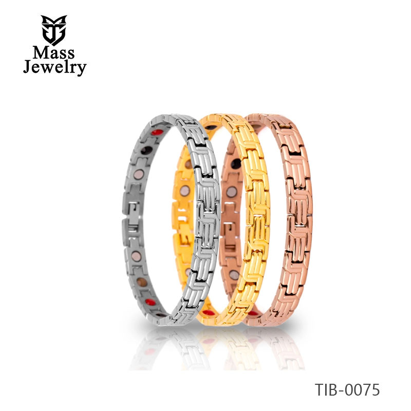 Titanium Germanium magnetic therapy health benefits bracelet