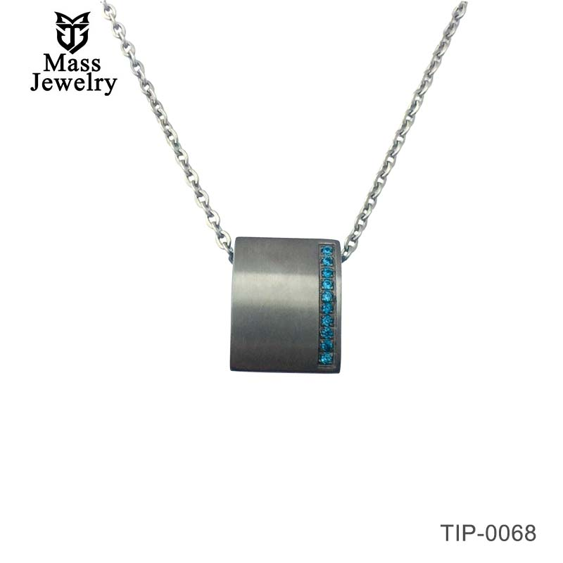 Titanium Necklaces Mens Womens Titanium Necklace Pendants Elegant Pendant