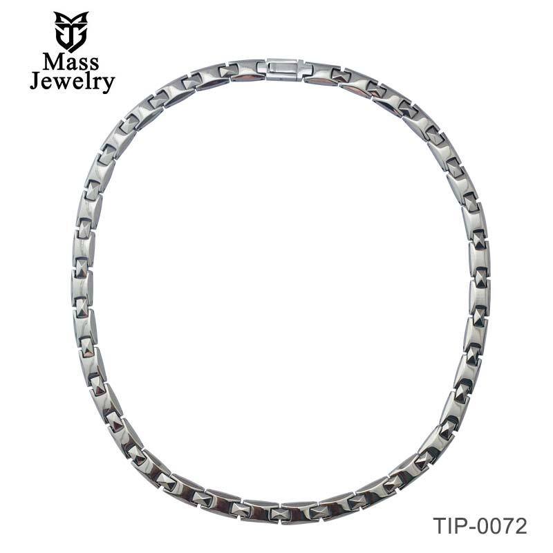 Pure Germanium Therapy Healthy Titanium Necklace