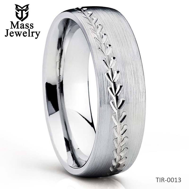 Baseball Wedding Band - Titanium Ring - Baseball Ring - Titanium Wedding Band