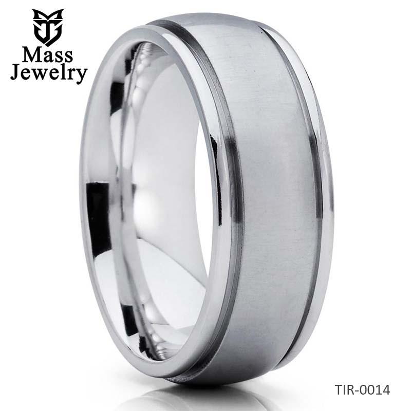 Titanium Wedding Band Handmade Titanium Wedding Ring Men's Ring