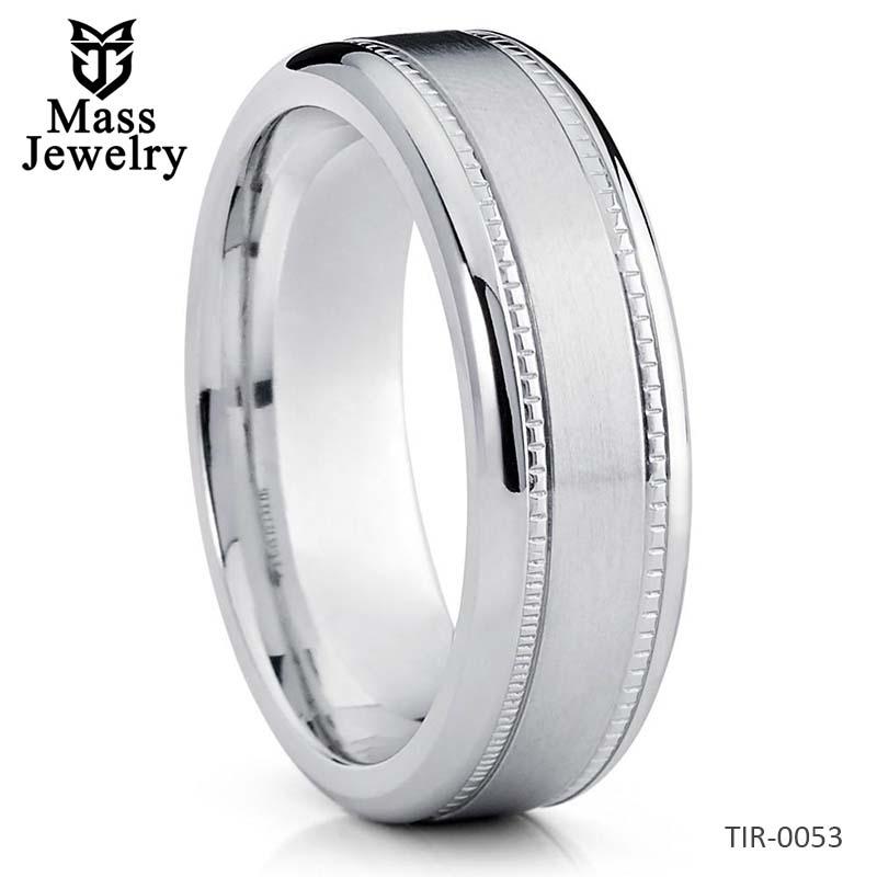 Men's Wedding Band Titanium Jewelry Titanium Wedding Ring Titanium Band