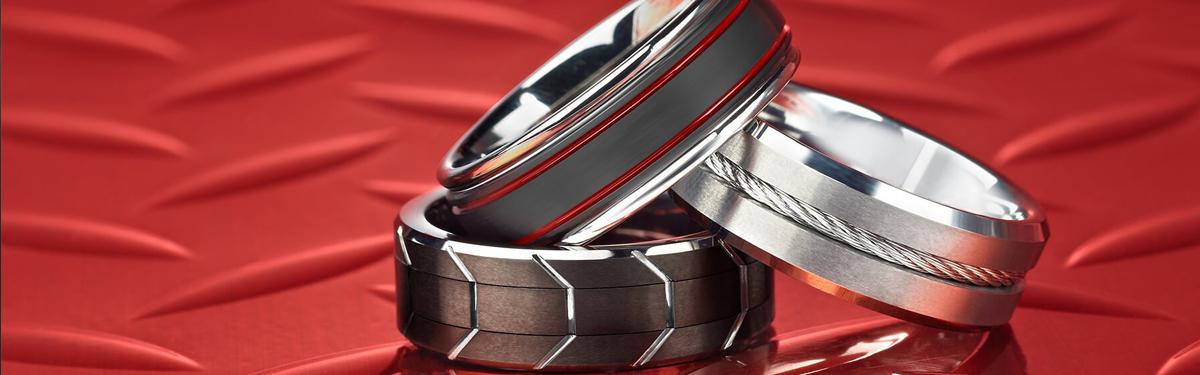 Gun Metal, Black Bar Links Tungsten Carbide /& Ceramic Magnetic Bracelet,2-Tone